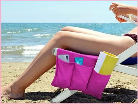 CelinaTex Sunly Telo da Mare o per Il Bagno 80 x 200 cm Asciugamano di Spugna in Cotone Blu con Tasca