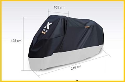 Telo copri moto da esterno tmax