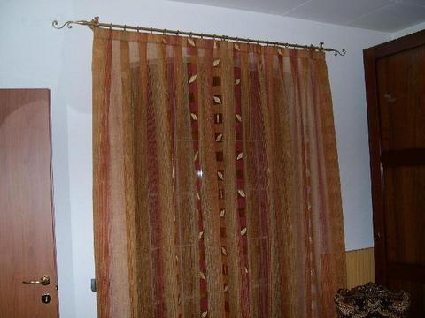 Organza ricamato grandi sconti tende e tendaggi sepe tende for Tende in organza