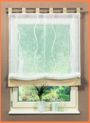 Tenda per finestre e interni con motivo ondulato