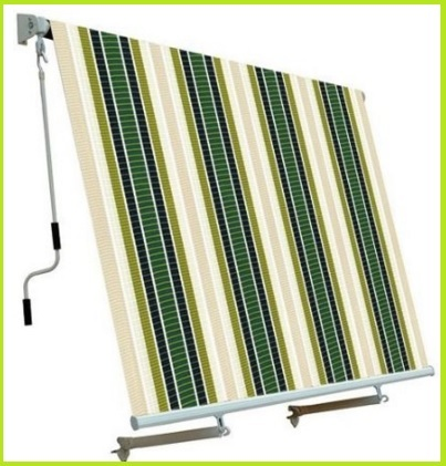 Tenda da sole per balconi a caduta