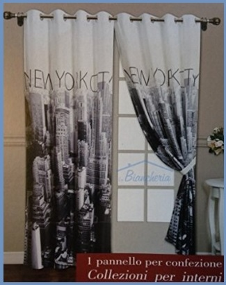 Tenda Per Interno Con Tema New York