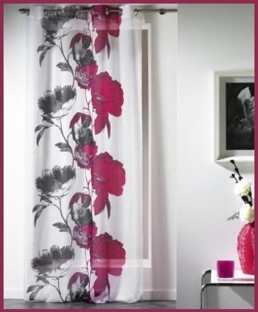 Tenda per interno con tema floreale