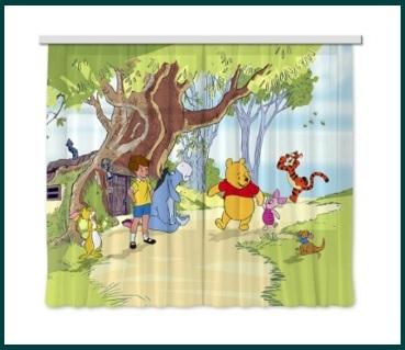 Tenda Per Camerette Per Bambini Winnie Pooh