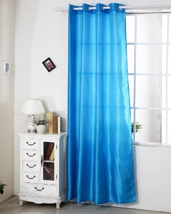Tenda semitrasparente a sciarpa