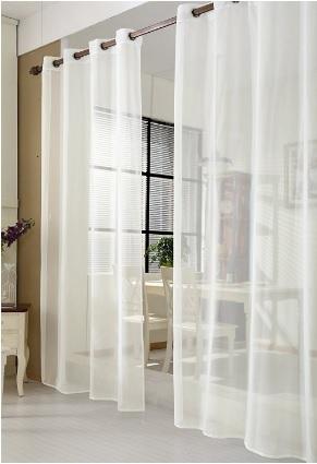 Tenda Trasparente A Sciarpa Per Interni