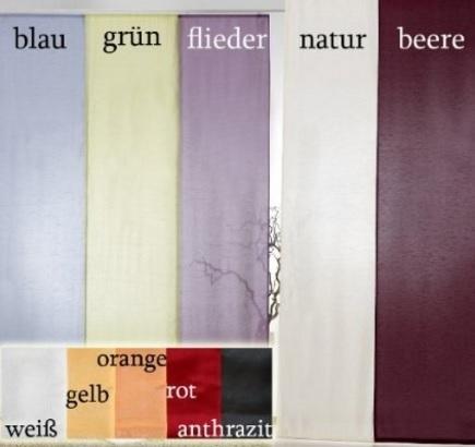 Tenda a pannello disponibile in tanti diversi colori