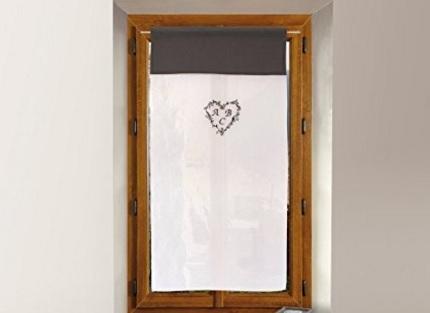 Tendina per la casa in cotone con cuore