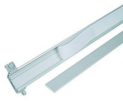 Carrello In Alluminio Binario Per Tende
