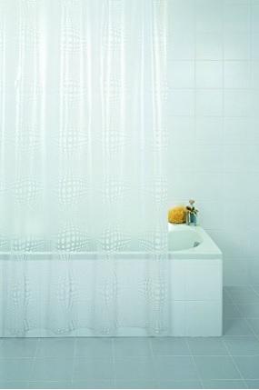 Tenda da bagno in plastica ecologica