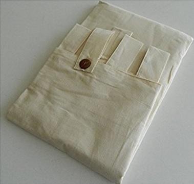 Tenda gazebo cotone confezionata con asole