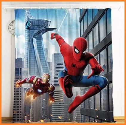 Tende camera bambini spiderman