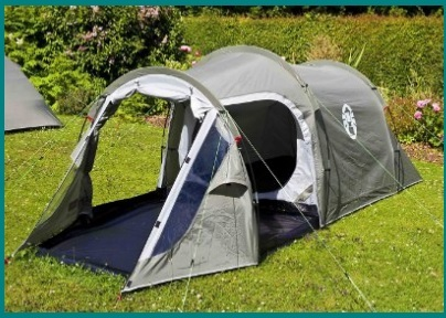Tende da campeggio con 2 posti rivestita