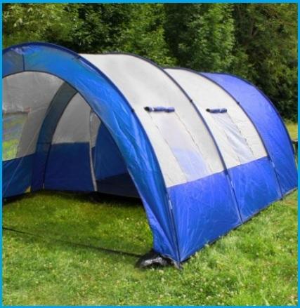 Tende campeggio 6 posti impermeabile e spaziosa