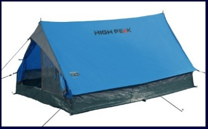 Tenda standard da campeggio facile da montare