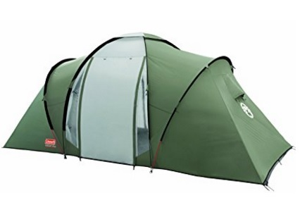 Tenda 4 plus rivestita e multicolore