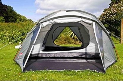 Tenda da campeggio classica e rivestita in pu