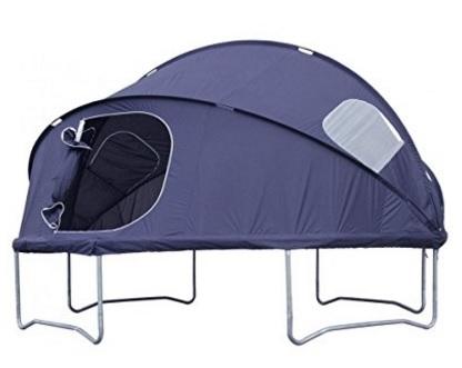 Tenda camping trampolino