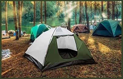 Tenda campeggio doppio strato