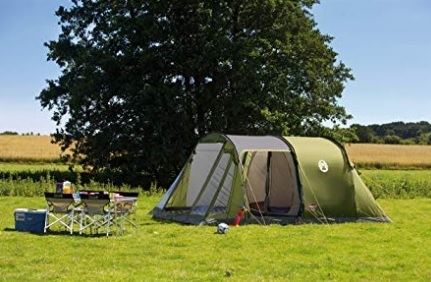 Tenda Campeggio 5 Posti Coleman