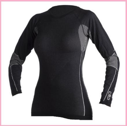 Maglia termica sportiva per donna in vendita online