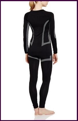 Abbigliamento completo termico da donna senza cuciture