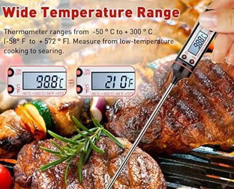 Termometri da cucina forno