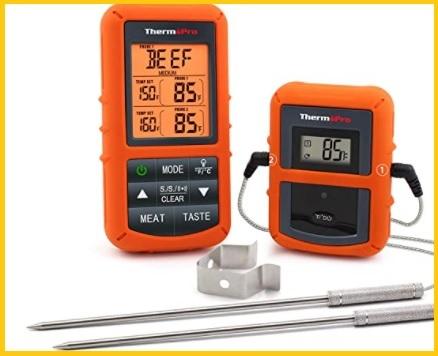 Termometro barbecue wireless
