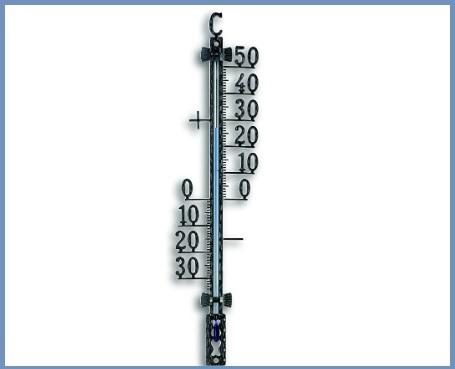 Termometro per esterno in ferro