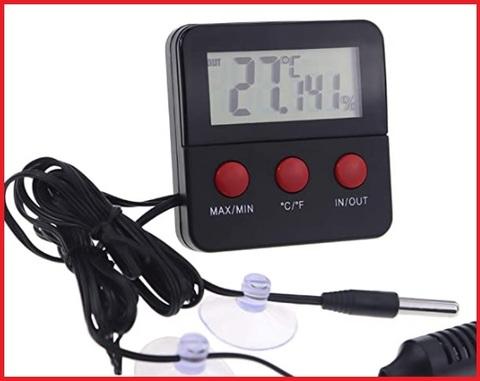 Termometro per terrario digitale