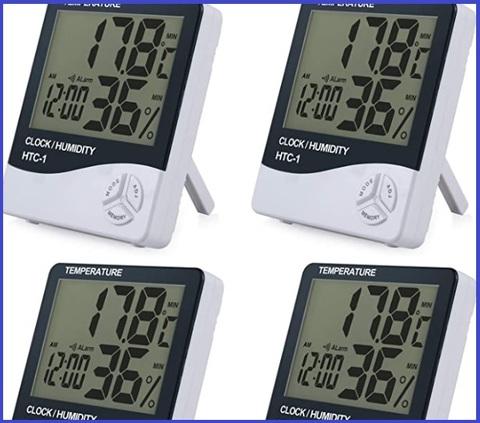 Termometri per ambienti 4 pezzi