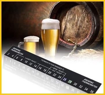 Termometro birra adesivo