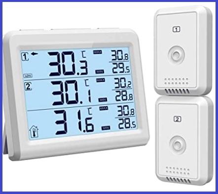 Termometro frigorifero interno