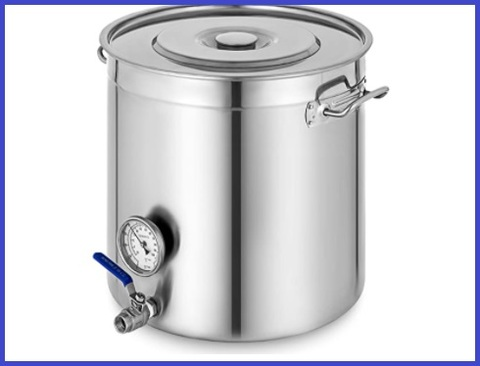 Termometro pentola acciaio