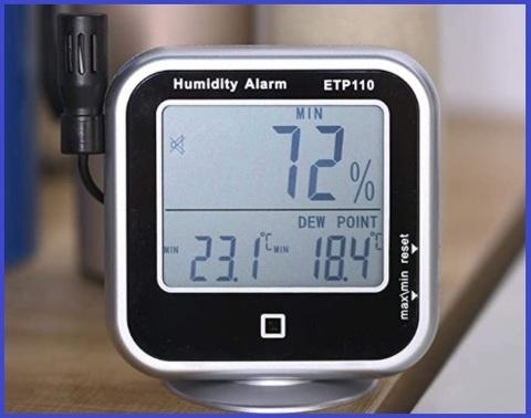 Termometro laboratorio led