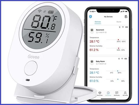 Termometro casa wifi