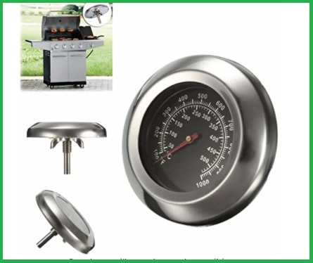 Termometro forno a legna interno