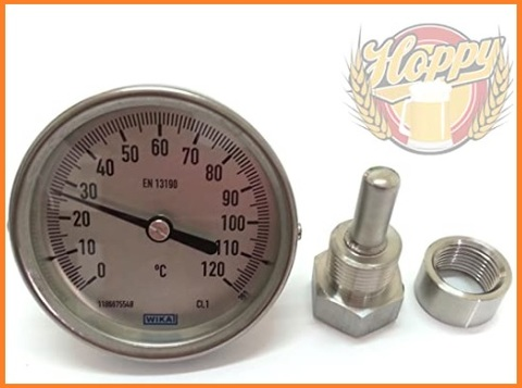 Termometro pentola acciaio inox