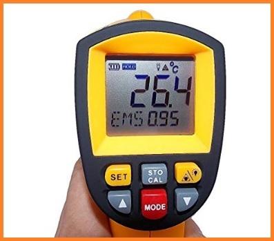 Termometro Laser Digitale Ad Infrarossi