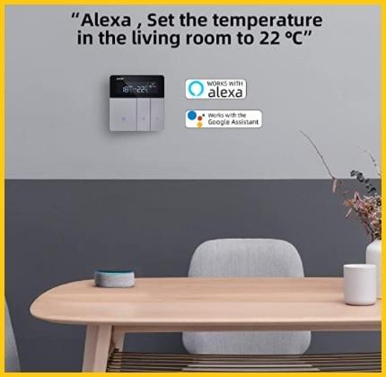Termostato Alexa Compatibile