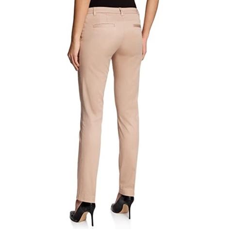 Pantaloni Classici Da Donna In Cotone