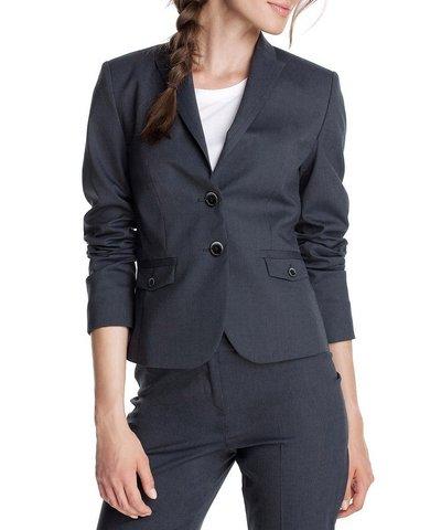 Completi giacca per completo, donna, marrone o blu