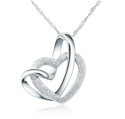 Collana cuore 925 argento festa della mamma