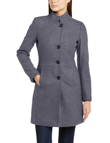 Cappotti per donna grigio ed altri colori tinta unita