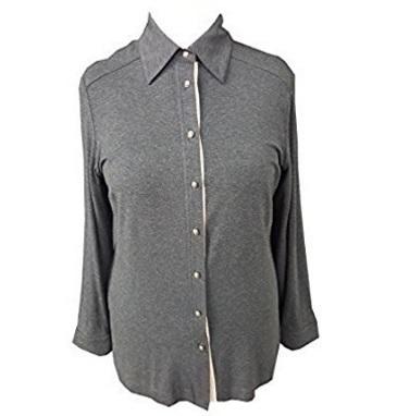 Camicia jersey maniche lunghe luisa viola