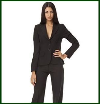 Tailleur Donna Eleganti Pantaloni E Giacca