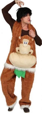 Costume peluche salopette scimmia