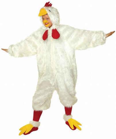 Costume peluche gallo taglia unica