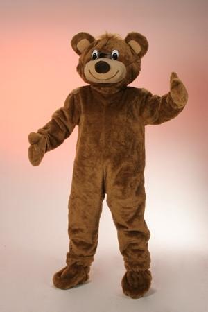 Costume peluche orso mascotte gigante