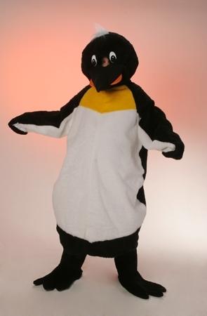 Costume peluche pinguino mascotte gigante
